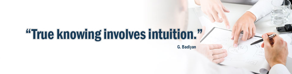 True knowing involves intuition.