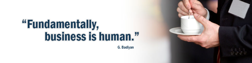 Fundamentally, business is human.